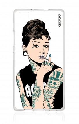 Cover Huawei P8 - Audrey tatuata