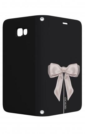 Case STAND Samsung A5 2017 - Satin White Ribbon