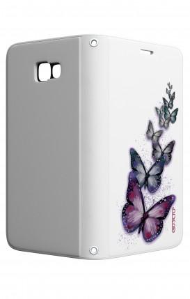 Cover STAND Samsung A5 2017 - Volo di farfalle
