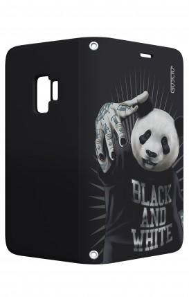 Case STAND Samsung S9 - B&W Panda