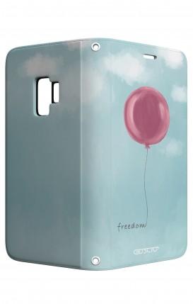 Cover STAND Samsung S9 - palloncino della libertà