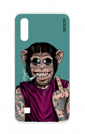 Case Samsung A50 - Monkey's always Happy
