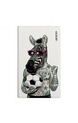 Cover Universal Casebook size3 - Zebra bianco