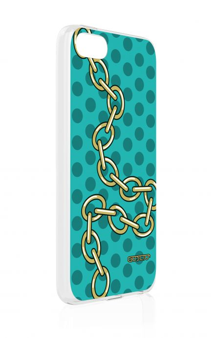 Cover Apple iPhone 5/5s/SE - Gold Chain