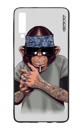 Samsung A70 Two-Component Case - Chimp with bandana
