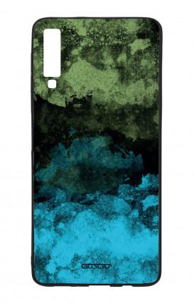 Cover Bicomponente Samsung A70  - Mineral BlackLime