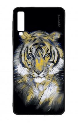 Cover Bicomponente Samsung A70  - Tigre neon