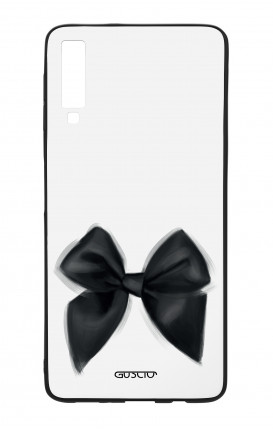 Cover Bicomponente Samsung A70  - Fiocco nero