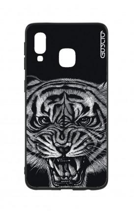 Samsung A20e  Two-Component Cover - Black Tiger