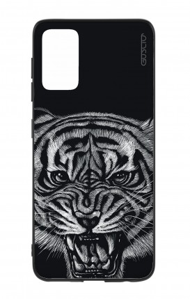 Samsung S20Plus Two-Component Cover - Black Tiger