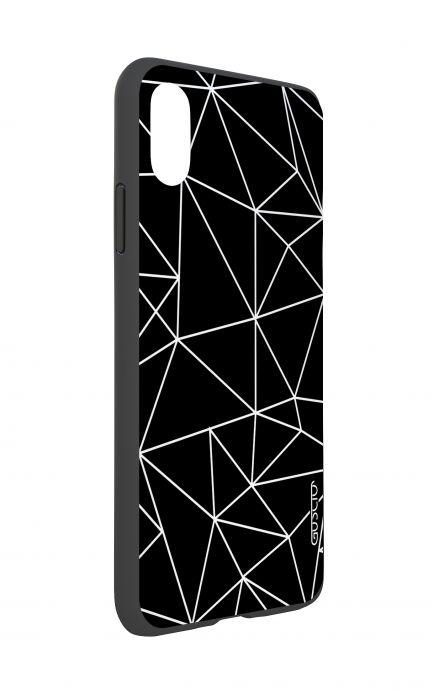 Cover Bicomponente Apple iPhone XS MAX - Astratto geometrico