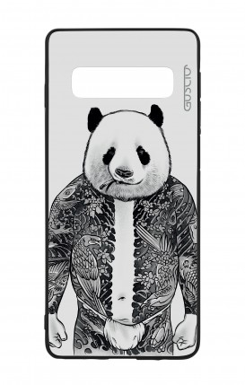 Samsung S10 WHT Two-Component Cover - Panda Yakuza