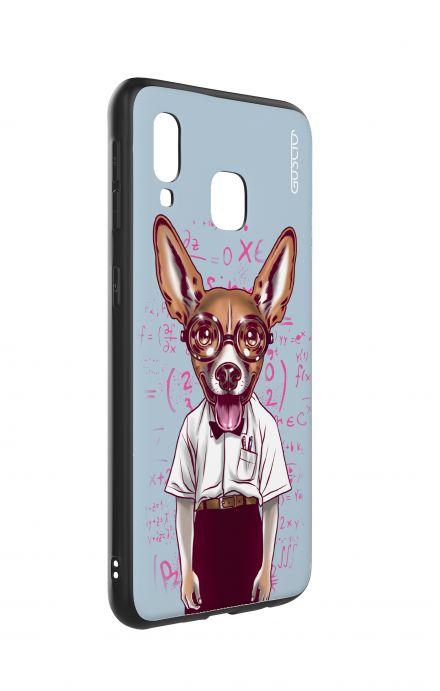 Cover Bicomponente Apple iPhone XS MAX - Astratto nero