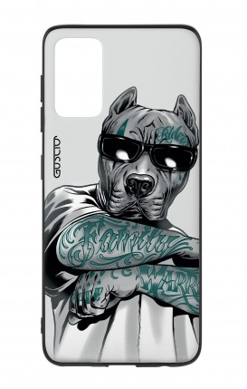 Samsung S20Plus Two-Component Cover - Tattooed Pitbull