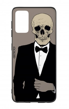 Samsung S20Plus Two-Component Cover - Tuxedo Skull