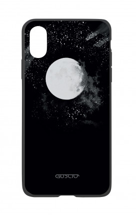 Apple iPh XS MAX WHT Two-Component Cover - Moon