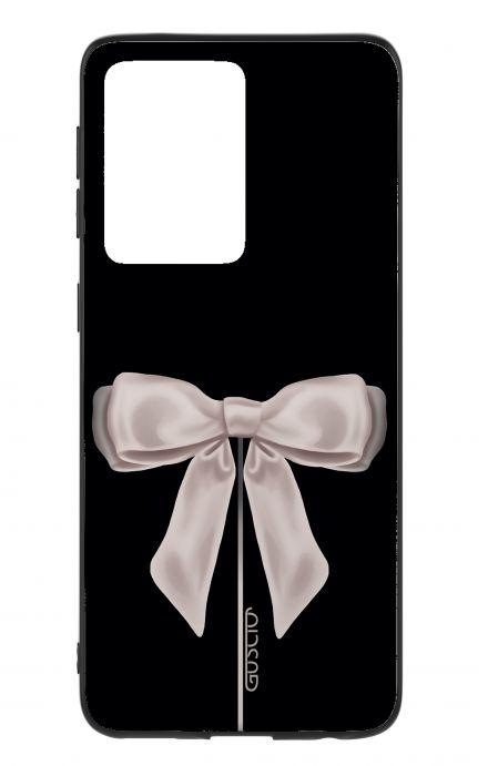 Cover Samsung S20 Ultra - Satin White Ribbon
