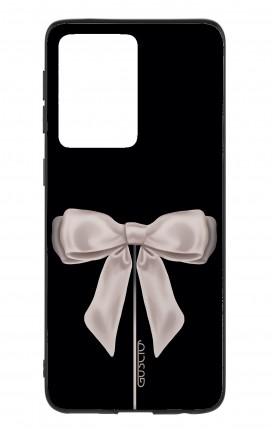 Cover Samsung S20 Ultra - Satin White Ribbon