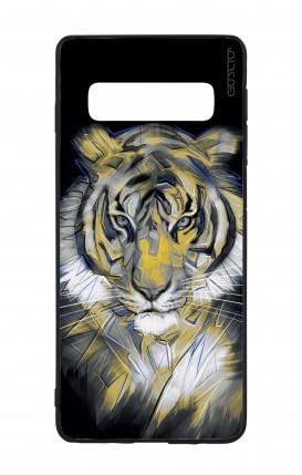 Cover Bicomponente Samsung S10 - Tigre neon