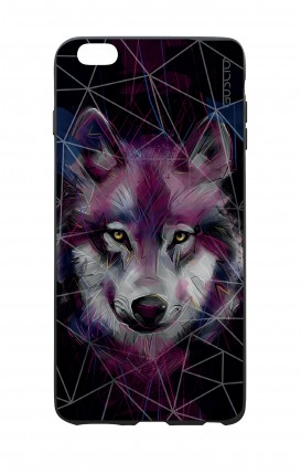 Apple iPhone 6 WHT Two-Component Cover - Neon Wolf