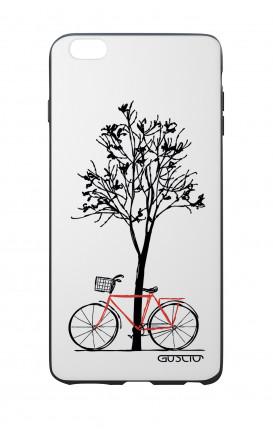 Cover Bicomponente Apple iPhone 6/6s - Albero e bicicletta