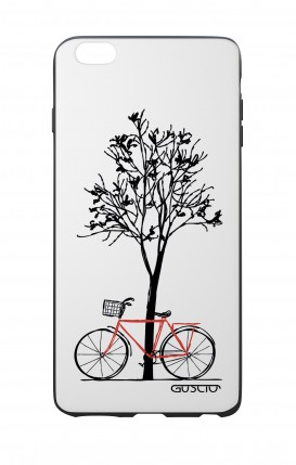 Apple iPhone 6 WHT Two-Component Cover - Cycle & Tree