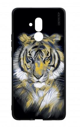 Cover Bicomponente Huawei Mate 20 Lite - Tigre neon