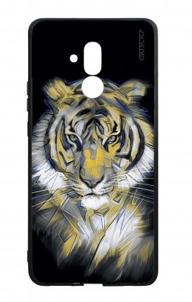 Huawei Mate20Lite WHT Two-Component Cover - Neon Tiger