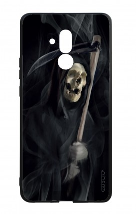 Huawei Mate20Lite WHT Two-Component Cover - Black Death