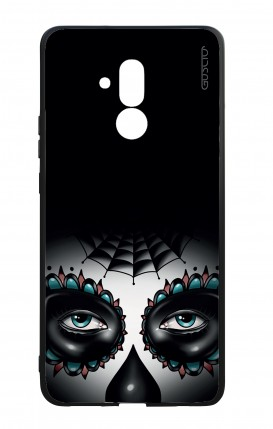 Huawei Mate20Lite WHT Two-Component Cover - Calavera Eyes