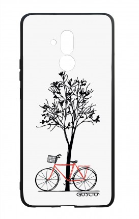 Huawei Mate20Lite WHT Two-Component Cover - Cycle & Tree