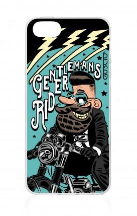 Cover Apple iPhone 5/5s/SE - Gentlemans Rider