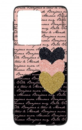 Cover Samsung S20 Ultra - Hearts on words