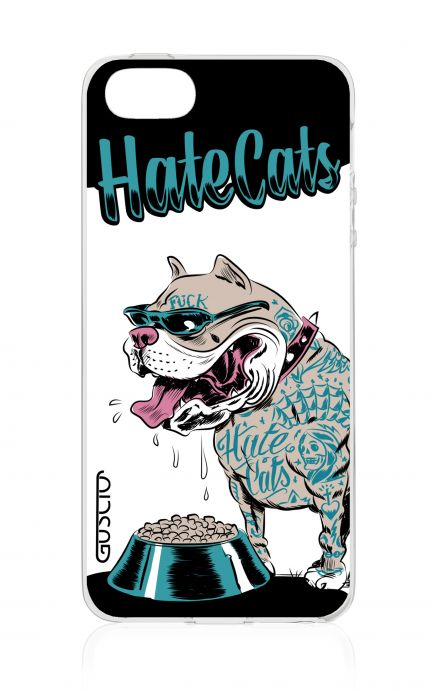 Cover TPU Apple iPhone 5/5s/SE - Hate Cats