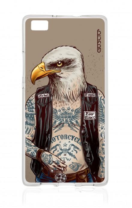 Cover Huawei Ascend P8 Lite  - Eagle Rebel
