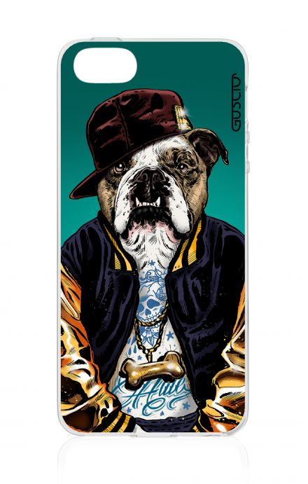 Cover Apple iPhone 5/5s/SE - Bulldog inglese