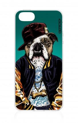 Cover Apple iPhone 5/5s/SE - Bulldog inglese