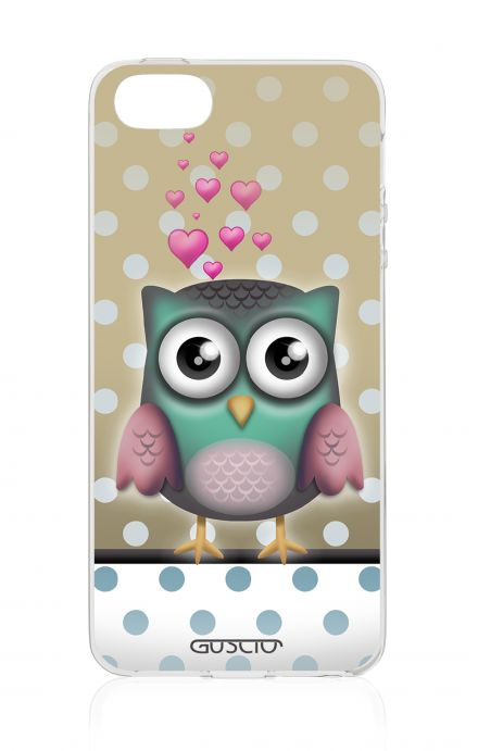 Cover Apple iPhone 5/5s/SE - Gufo e pois