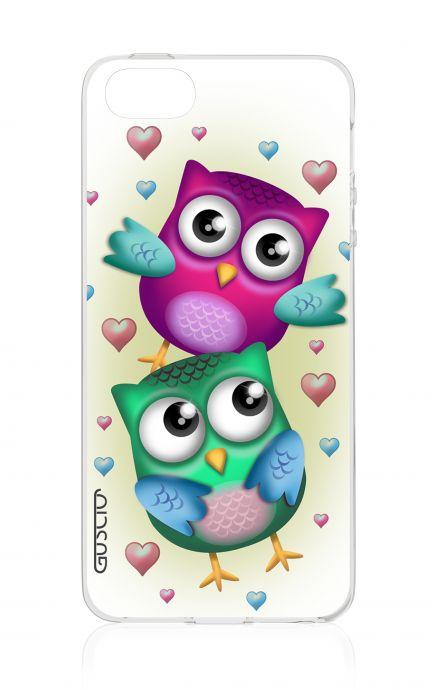 Cover Apple iPhone 5/5s/SE - Coppia di gufi
