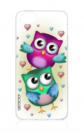 Cover Apple iPhone 5/5s/SE - New Double Owl