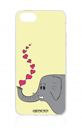Cover Apple iPhone 5/5s/SE - Elefante innamorato