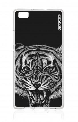 Cover Huawei P8 Lite - Tigre nera