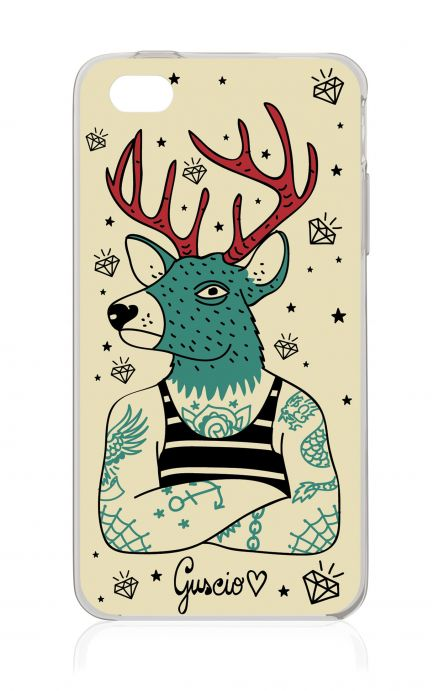Cover Apple iPhone 4/4S - Freak Deer