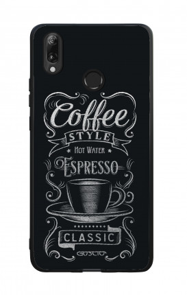 Cover Bicomponente Huawei P Smart 2019 - Coffee Style