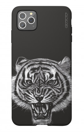 Soft Touch Case Apple iPhone 11 PRO MAX - Black Tiger