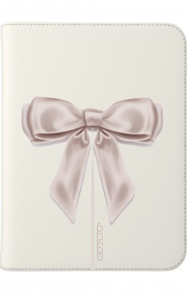 """Cover Universal Tablet Case per 9/10"""" display - Fiocco di raso bianco"""