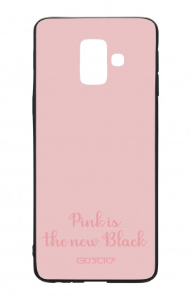 Samsung J6 2018 WHT Two-Component Cover - Pink is the new Black