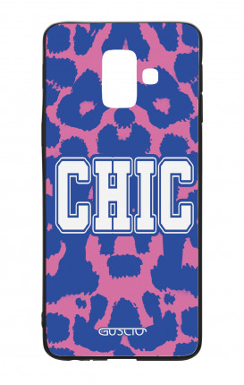 Samsung A6 Plus WHT Two-Component Cover - Chic Animalier