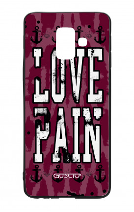 Samsung A6 Plus WHT Two-Component Cover - Love Pain