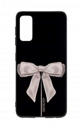 Cover Samsung S20 - Satin White Ribbon
